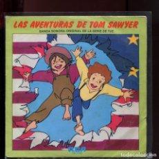Discos de vinilo: LAS AVENTURAS DE TOM SAWYER. BANDA SONORA. RCA 1980. BUENO DIFÍCIL EN ESTE ESTADO. Lote 177255997