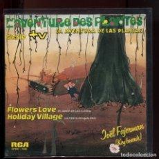 Discos de vinilo: LA AVENTURA DE LAS PLANTAS. SERIE TVE. RCA 1982. PERFECTO COMO NUEVO. Lote 177256792