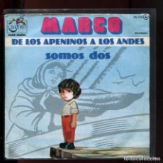 Discos de vinilo: MARCO DE LOS APENINOS A LOS ANDES. ZAFIRO 1977. . Lote 177257108