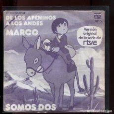 Discos de vinilo: MARCO DE LOS APENINOS A LOS ANDES. PHILIPS 1977. Lote 177257273