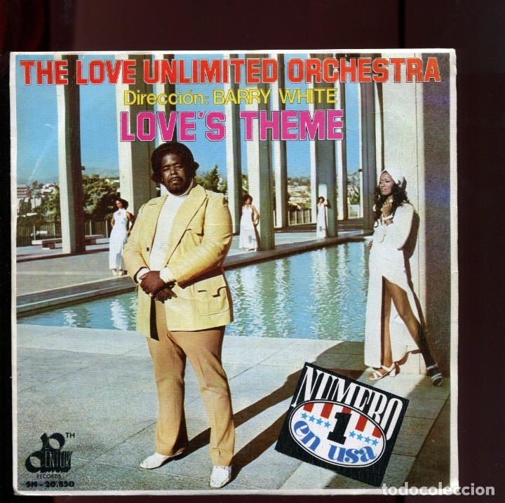 Discos de vinilo: BARRY WHITE. The loves theme 1974. PERFECTO ESTADO COMO NUEVO - Foto 1 - 177261630