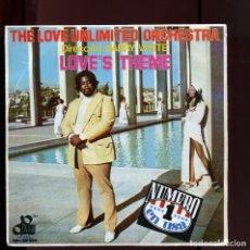 Discos de vinilo: BARRY WHITE. THE LOVE'S THEME 1974. PERFECTO ESTADO COMO NUEVO. Lote 177261630