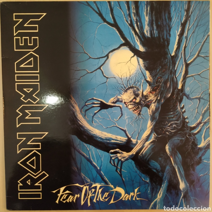 IRON MAIDEN - FEAR OF THE DARK - EMI - 140 79 9161 1 - 2 VINILOS - GATEFOLD - ESPAÑA - 1992 - MINT (Música - Discos - LP Vinilo - Heavy - Metal)
