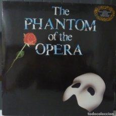Discos de vinilo: THE PHANTOM OF THE OPERA//1987//PORTADA Y DISCO DOBLE//LIBRETO//MADE IN GERMANY//(VG+VG+). LP. Lote 177261932
