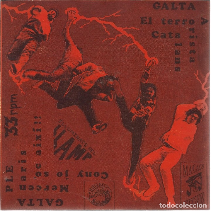 Discos de vinilo: BUDELLAM, TOT HI CAP (MACACO 1991) EP -2 INSERTOS- - Foto 3 - 177262275