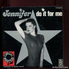 Discos de vinilo: JENNIFER DO IT FOR ME. BIG BOX 1977. BUENO. Lote 177262308