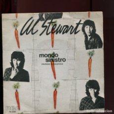 Discos de vinilo: AL STEWART. MONDO SINISTRO. RCA 1980. SP. Lote 177262507