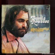 Discos de vinilo: DEMIS ROUSSOS. WHEN I AM A KID MY REASON. PHILIPS 1972. Lote 177262643