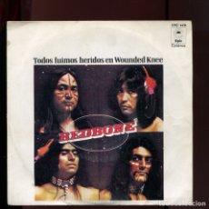 Discos de vinilo: REDBONE. TODOS FUIMOS HERIDOS . EPIC 1973. Lote 177263144