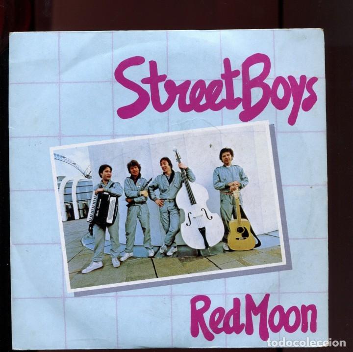 STREET BOYS RED MOON. EDIGSA 1982 . BUENO (Música - Discos de Vinilo - Maxi Singles - Pop - Rock Extranjero de los 70)