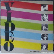 Discos de vinilo: VIDEO //LA VENTANA// 1984//(VG+VG+). SUPERSINGLE. Lote 177264715