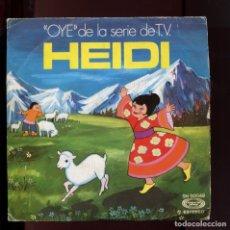 Discos de vinilo: HEIDI OYE, EL DIA SE ACABÓ. MOVIE PLAY 1975. DISCO RARO. Lote 177265994