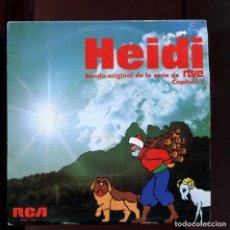 Discos de vinilo: HEIDI ORIGINAL. CAPÍTULO 5. RCA 1975. PERFECTO ESTADO. Lote 177266358