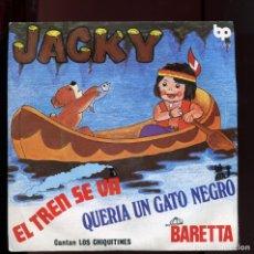 Discos de vinilo: JACKY, CANTAN LOS CHIQUITINES. BELTER 1979. NUEVO A ESTRENAR. Lote 177266674