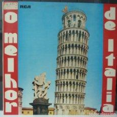 Discos de vinilo: O MELHOR DE ITALIA//1980//MADE IN PORTUGAL//(VG VG). LP. Lote 177267212