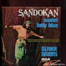 Discos de vinilo: SANDOKAN RCS 1976. COMO NUEVO. Lote 177267802
