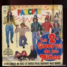 Discos de vinilo: PARCHIS LA 2ª GUERRA DE LOS NIÑOS. BELTER 1981. Lote 177267993