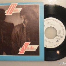 Discos de vinilo: DISCO SINGLE DISEÑO , SIN ELLA. RCA 1984. SINGLE PROMOCIONAL. Lote 177273589