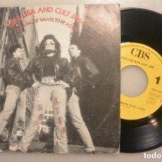 Discos de vinilo: DISCO SINGLE LISA LISA AND CULT JAM. CBS 1989. Lote 177273742
