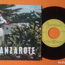 Discos de vinilo: LANZAROTE LANZAROTEÑA+3 EP IBEROFÓN 1964. Lote 177276434