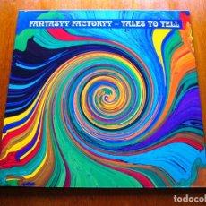 Discos de vinil: FANTASYY FACTORYY - TALES TO TELL 1997 ALEMANIA PSYCHEDELIC ROCK ORIGINAL LP. Lote 177277408