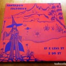 Discos de vinil: FANTASYY FACTORYY - IF I LIKE IT, I DO IT 1998 ALEMANIA PSYCHEDELIC ROCK ORIGINAL LP. Lote 177277642