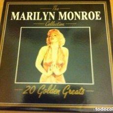 Discos de vinilo: MARILYN MONROE - 20 GOLDEN GREATS (1997. Lote 177280259