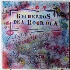 Discos de vinilo: RECUERDOS DEL ROCK-OLA...DOBLE LP..IMPECABLE...1987. Lote 177280563