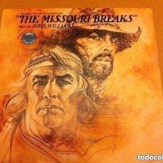 Discos de vinilo: THE MISSOURI BREAKS - MCA-USA 1976- LP. Lote 177280643