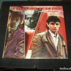 Disques de vinyle: EL ULTIMO DE LA FILA LP ENEMIGOS DE LO AJENO. Lote 177283262