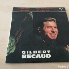 Discos de vinilo: DISCO VINILO MAXI SINGLE GILBERT BECAUD. Lote 177284432