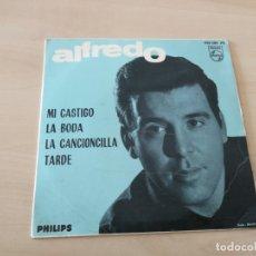 Discos de vinilo: DISCO VINILO MAXI SINGLE ALFREDO. Lote 177284644