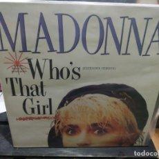Discos de vinilo: MAXI LP MADONNA WHO'S THAT GIRL BUEN SONIDO. Lote 177295814