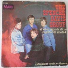 Discos de vinilo: THE SPENCER DAVIS GROUP - EL SEÑOR SEGUNDA CLASE UNITED ARTISTS - 1968. Lote 177296989