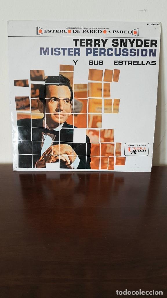 MISTER PERCUSSION, TERRY SNYDER Y SUS ESTRELLAS. (Música - Discos - LP Vinilo - Orquestas)