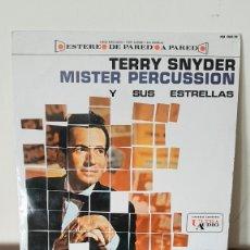 Discos de vinilo: MISTER PERCUSSION, TERRY SNYDER Y SUS ESTRELLAS.. Lote 177297132
