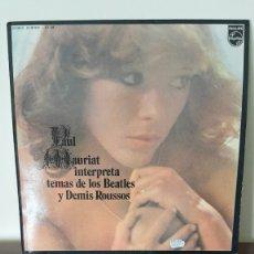 Discos de vinilo: PAUL MAURIAT - INTERPRETA TEMAS DE LOS BEATLES Y DEMIS ROUSSOS - PHILIPS STEREO, 91 20 022.. Lote 177298594
