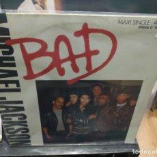 Discos de vinilo: MAXI LP MICHAEL JACKSON BAD BUEN SONIDO. Lote 177299334