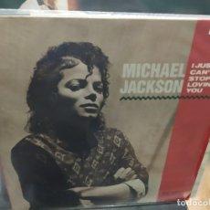 Discos de vinilo: MAXI LP MICHAEL JACKSON I JUST CAN'T STOP LOVING YOU BUEN SONIDO. Lote 177299443