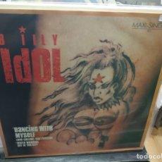 Discos de vinilo: MAXI LP BILLY IDOL DANCING WITH MYSELF BUEN SONIDO. Lote 177301107