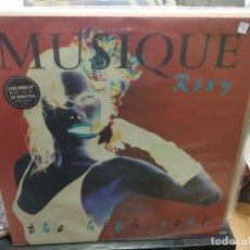 Discos de vinilo: MAXI LP ROXY MUSIC MUSIQUE THE HIGH ROAD BUEN SONIDO. Lote 177301184