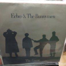 Discos de vinilo: MAXI LP ECHO & THE BUNNYMEN THE GAME BUEN SONIDO. Lote 177301242
