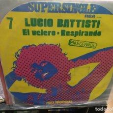 Discos de vinilo: MAXI LP LUCIO BATTISTI EL VELERO BUEN SONIDO. Lote 177301319