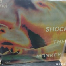 Discos de vinilo: MAXI LP PETER GABRIEL SHOCK THE MONKEY BUEN SONIDO. Lote 177301390