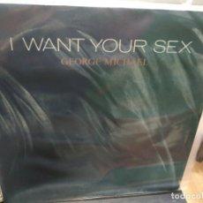Discos de vinilo: MAXI LP GEORGE MICHAEL I WANT YOUR SEX BUEN SONIDO. Lote 177301488