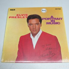 Discos de vinilo: 33 RPM LP - ELVIS PRESLEY - A PORTRAIT IN MUSIC. Lote 177310102