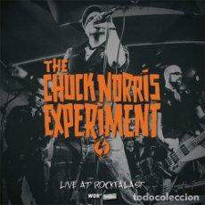 Discos de vinilo: THE CHUCK NORRIS EXPERIMENT LIVE AT ROCKPALAST LP . PUNK ROCK TURBONEGRO ZEKE. Lote 177310123