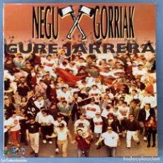 Discos de vinilo: NEGU GORRIAK / GURE JARRERA / LP 33 RPM / ESAN OSENKI -CON LETRAS -EXCELENTE ESTADO DE CONSERVACIÓN. Lote 177310133