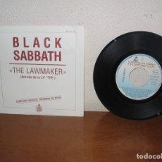 Discos de vinilo: BLACK SABBATH 7'' MEGA RARE VINTAGE ONLY SPAIN PROMO 1990. Lote 177310594