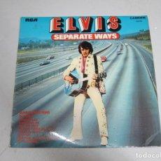 Discos de vinilo: 33 RPM LP PICKWICK - ELVIS PRESLEY - SEPARATE WAYS. Lote 177311193